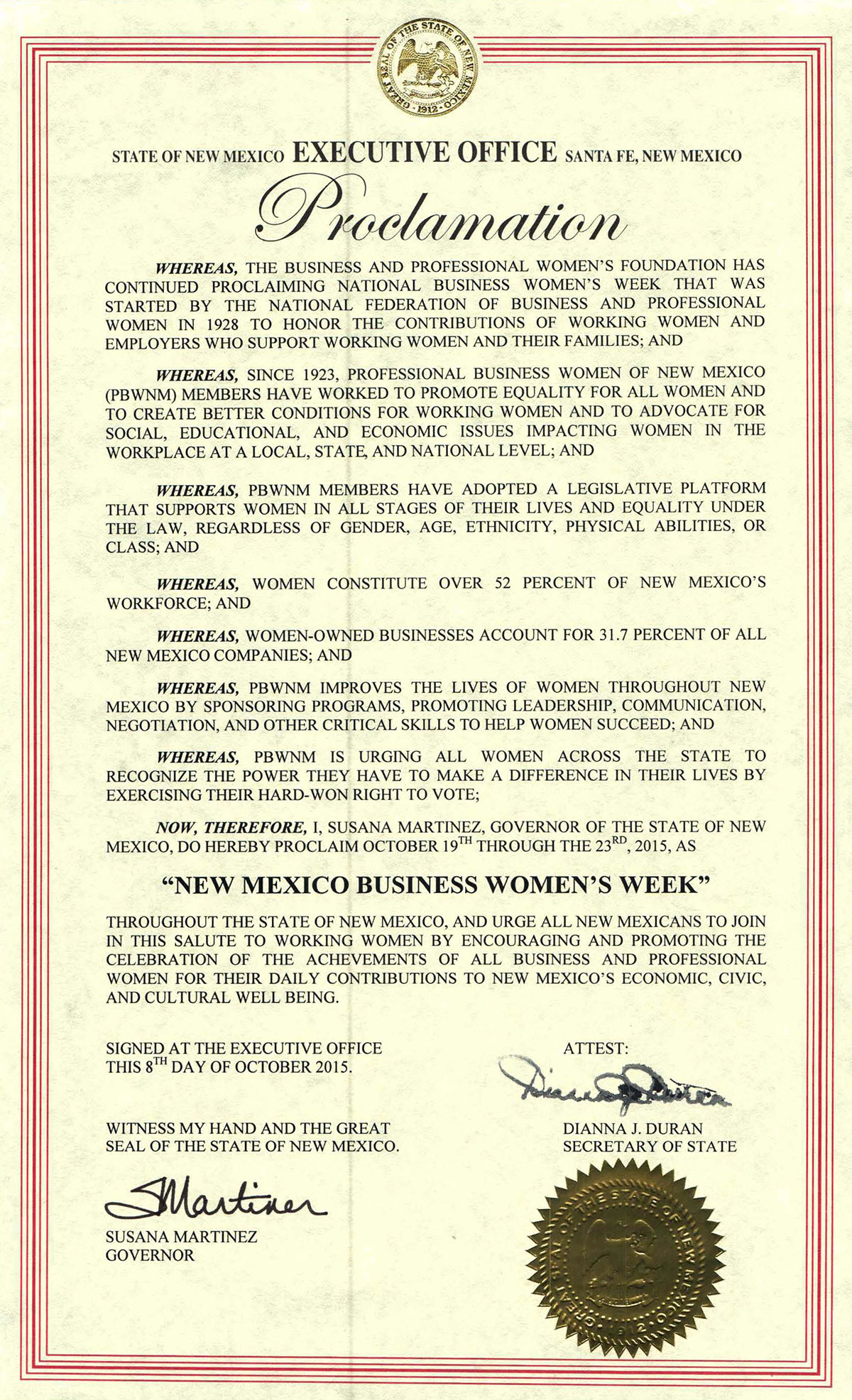 proclamation_2015_new_mexico_business_womens_week